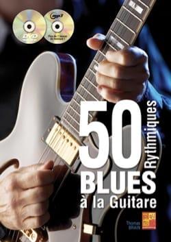Thomas Brain - 50 rythmiques blues à la guitare - Partition - di-arezzo.fr