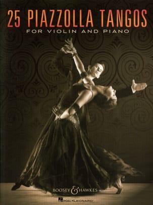 Astor Piazzolla - 25ピアソラ・タンゴス・ヴァイオリンとピアノ - 楽譜 - di-arezzo.jp