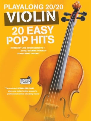 - Playalong 20/20 Violin 20 Easy Pop Hits - Sheet Music - di-arezzo.com