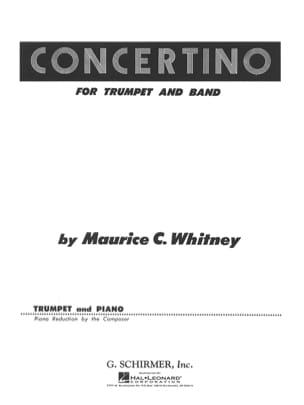 C. Maurice Whitney - Concertino - Sheet Music - di-arezzo.com