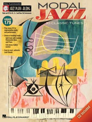- Jazz Play-Along Volume 179 - Modal Jazz - Partition - di-arezzo.fr