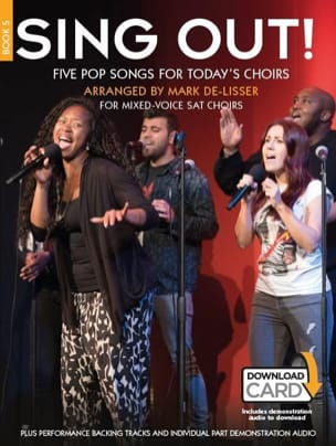 Sing Out! 5 Pop Songs For Today's Choirs Book 5 laflutedepan