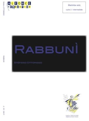 Stefano Ottomano - Rabbuni - Partition - di-arezzo.fr