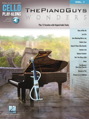 The Piano Guys - Cello Play-Along Volume 1 - The Piano Guys - Wonders - Sheet Music - di-arezzo.co.uk