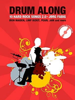 Drum Along - 10 Hard Rock Songs 2.0 Partition laflutedepan