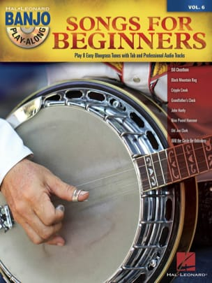 Banjo Play-Along Volume 6 - Songs for Beginners laflutedepan