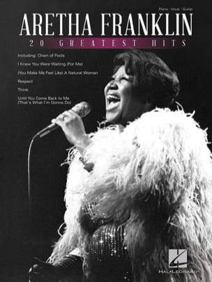 Aretha Franklin - 20 Greatest Hits - Sheet Music - di-arezzo.com
