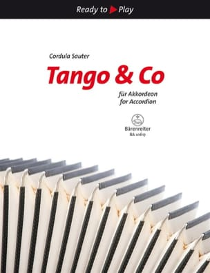- Tango & Co For Accordion - Partition - di-arezzo.fr