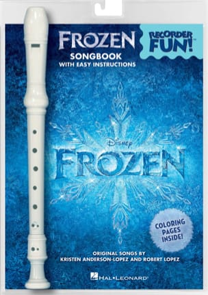 DISNEY - The Frozen - Pack Recorder and Score - Sheet Music - di-arezzo.co.uk