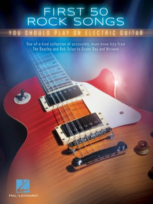 - First 50 Rock Songs You Should Play on Electric Guitar - Sheet Music - di-arezzo.com