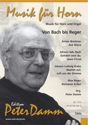 Musique pour Cor et Orgue - Von Bach Bis Reger - laflutedepan.com