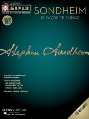 Jazz Play-Along Volume 183 - Sondheim Stephen Sondheim laflutedepan