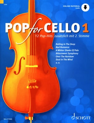 - Pop For Cello - Volume 1 - Partition - di-arezzo.fr