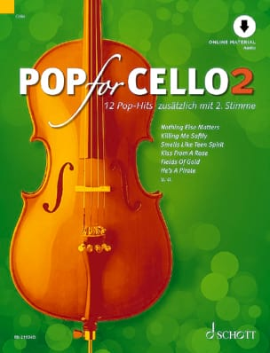 - Pop For Cello - Volume 2 - Partition - di-arezzo.fr