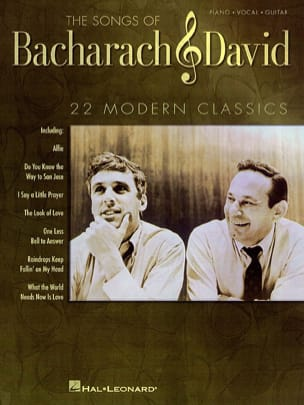 Burt Bacharach & Hal David - The Songs of Bacharach - David - Sheet Music - di-arezzo.co.uk