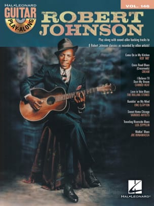 Robert Johnson - Guitar Play-Along Volume 146 - Robert Johnson - Partition - di-arezzo.fr