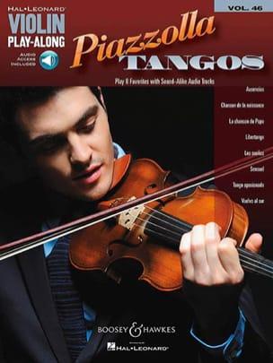 Violin Play-Along Volume 46 Piazzolla Tangos - laflutedepan.com