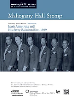 Spencer Williams - Mahogany Hall Stomp - Sheet Music - di-arezzo.co.uk