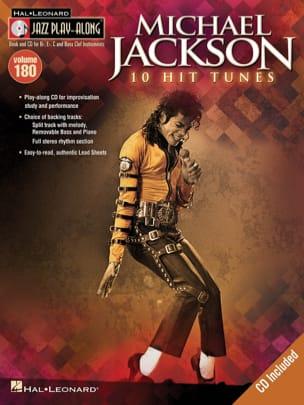 Jazz Play-Along Volume 180 - Michael Jackson - laflutedepan.com