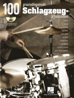 Terry O'Mahoney - 100 Basislektionen für Schlagzeug - Partition - di-arezzo.fr