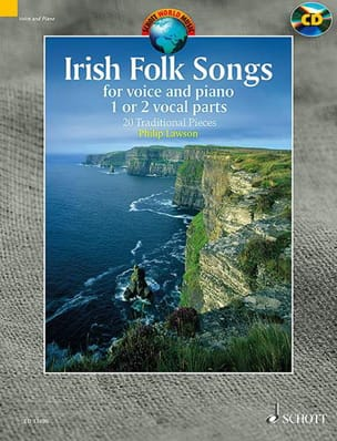 Irish Folk Songs Partition Musique du monde - laflutedepan