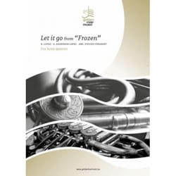 DISNEY - Let it go from Frozen - Horn Quartet - Sheet Music - di-arezzo.co.uk