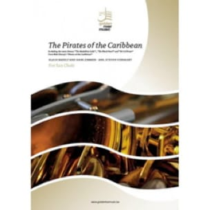 Klaus Badelt & Hans Zimmer - The Pirates of the Caribbean - Sax Ensemble - Sheet Music - di-arezzo.co.uk