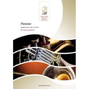 Pavane - Quintette de Cuivres FAURÉ Partition laflutedepan