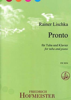 Rainer Lischka - Pronto - Sheet Music - di-arezzo.com