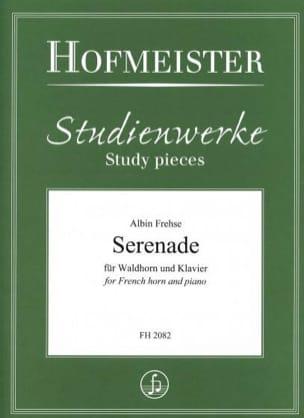 Albin Frehse - Serenade - Partition - di-arezzo.fr