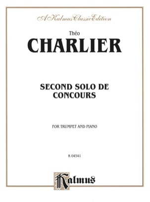 Théo Charlier - 2nd Solo of Competition - Sheet Music - di-arezzo.co.uk