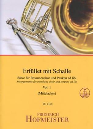 - Erfüllet Mit Schalle - Volume 1 - Partition - di-arezzo.fr