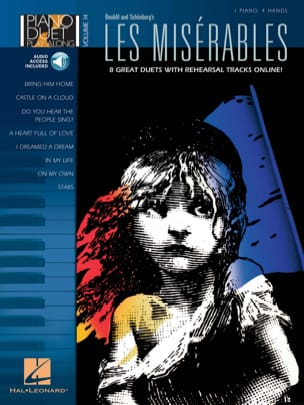 Piano Duet Play-Along Volume 14 - Les Misérables laflutedepan