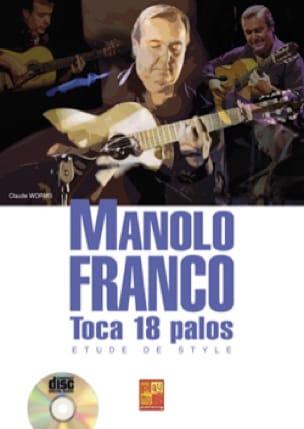 Manolo Franco - Manolo Franco - Toca 18 palos - Etude de style - Partition - di-arezzo.fr