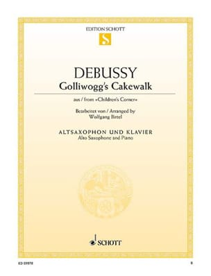 DEBUSSY - Golliwogg's Cakewalk from Children's Corner - Partition - di-arezzo.fr