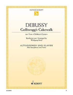 Claude Debussy - Golliwogg's Cakewalk from Children's Corner - Partition - di-arezzo.fr