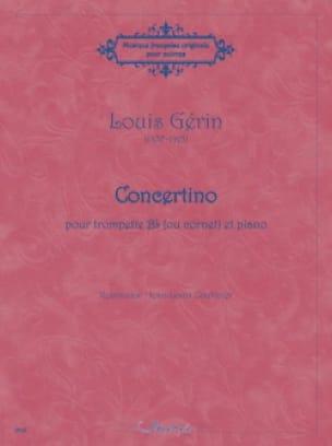 Louis Gérin - Concertino - Partition - di-arezzo.fr