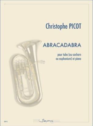 Christophe Picot - Abracadabra - Partition - di-arezzo.fr