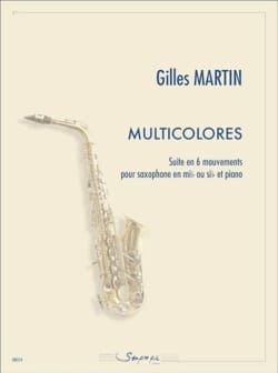 Gilles Martin - multicolore - Partitura - di-arezzo.it