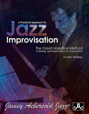 METHODE AEBERSOLD - A Practical Approach To Jazz Improvisation - The David Hazeltine Method - Sheet Music - di-arezzo.co.uk