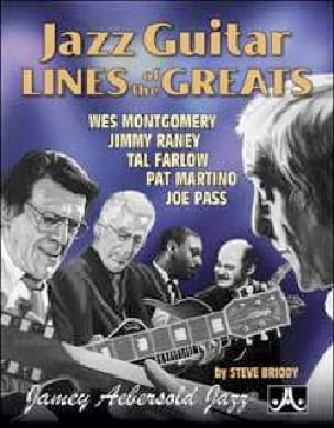 METHODE AEBERSOLD - Jazz Guitar Lines Of The Greats - Sheet Music - di-arezzo.co.uk