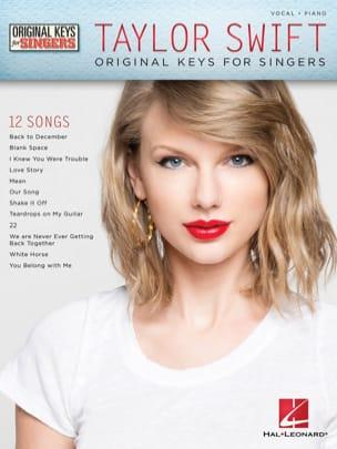 Taylor Swift - Original Keys for Singers - laflutedepan.com