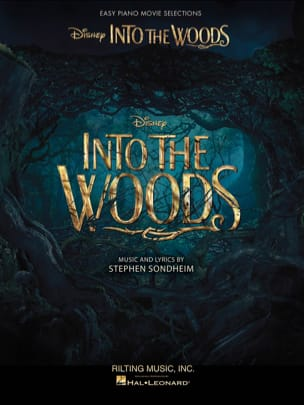 Sondheim Stephen - Into the Woods - Easy Piano Selections from the Disney Movie - Partition - di-arezzo.fr