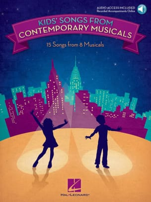 - Kids' Songs from Contemporary Musicals - Partition - di-arezzo.fr
