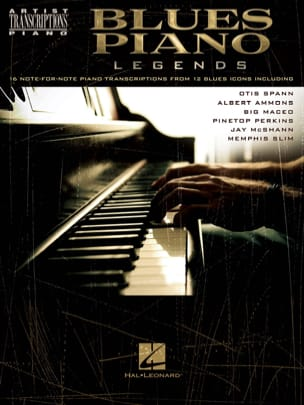- Blues Piano Legends - Partition - di-arezzo.fr