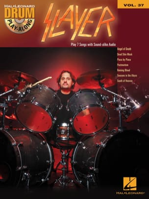 Slayer - Drum Play-Along Volume 37 - Slayer - Partition - di-arezzo.fr