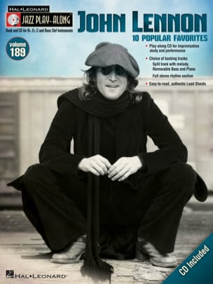 John Lennon - Jazz Play-Along Volume 189 - John Lennon - Sheet Music - di-arezzo.com