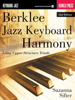 Suzanna Sifter - Berklee Jazz Keyboard Harmony 2nd Edition - Partitura - di-arezzo.it