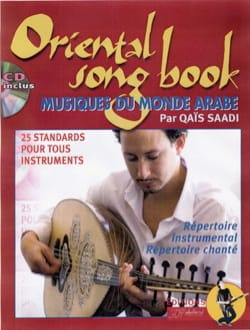 Qaïs Saadi - Oriental Songbook - Sheet Music - di-arezzo.co.uk