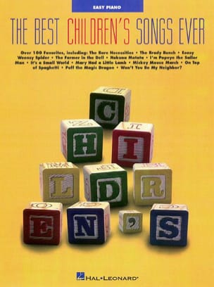 - The Best Children's Ever Songs - Sheet Music - di-arezzo.co.uk